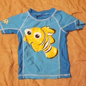Other - Finding Nemo toddler swim shirt